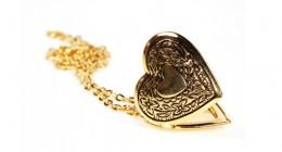 Medaillon aus Gold